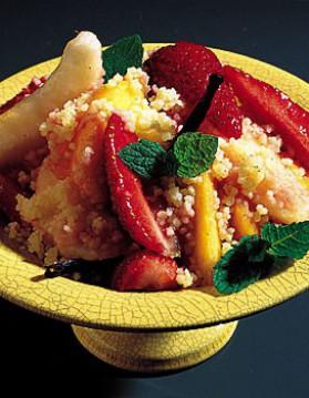 Taboulé aux fruits frais pour 4 personnes