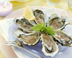 Recette huîtres aux échalotes