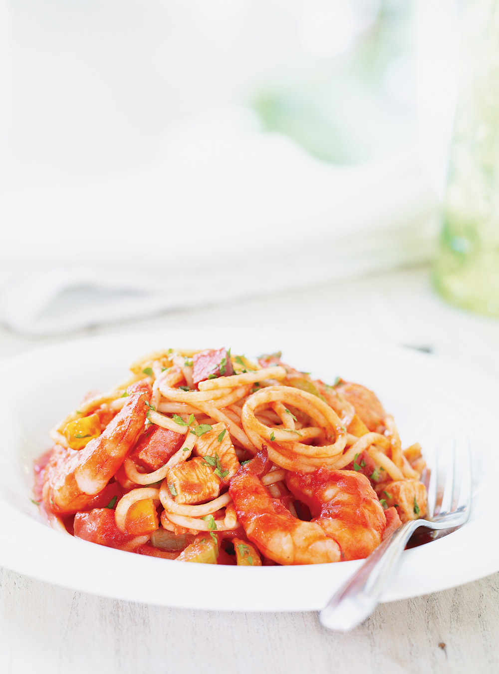 Spaghettis jambalaya | ricardo