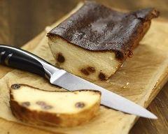 Recette gâteau de faisselle aux raisins secs
