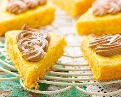 Recette gâteau aux carottes et pâte à tartiner