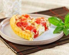 Recette tarte feuilletée chèvre tomate