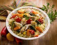 Recette couscous au poisson et légumes