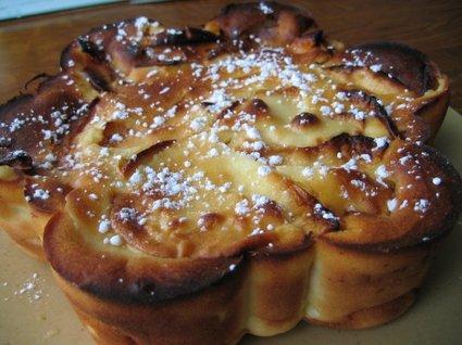 Recette de gâteau moelleux aux pommes reinettes