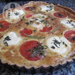 Recette tarte à la tomate et au chèvre frais – toutes les recettes ...