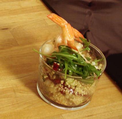 Recette de salade croquante et acidulée pommes, betterave et quinoa