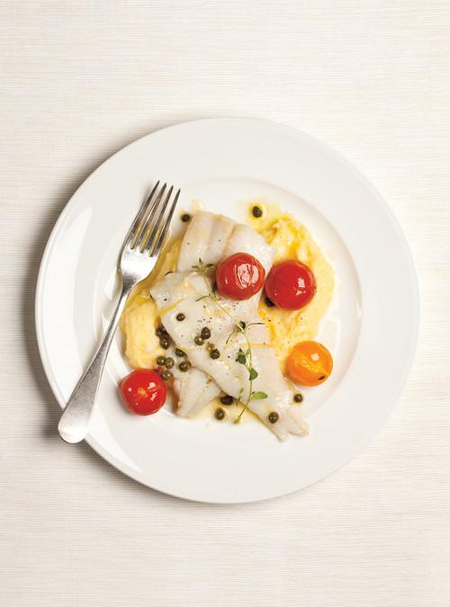 Tartare l ger de poisson blanc aux c pres pour d ner entre for Diner leger entre amis