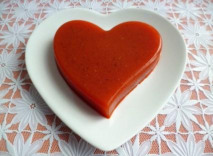 Recette de flan coeur détox pomme poire orange carotte citron ...