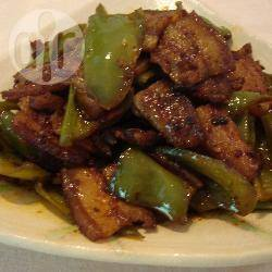 Recette poitrine de porc sautée au piment vert – toutes les recettes ...