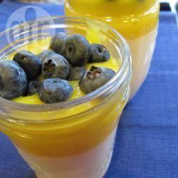 Recette panna cotta au lait de coco et coulis de mangue – toutes ...