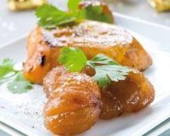 Recette escalope de foie gras aux marrons glacés