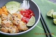 Recette de poke bowl au saumon