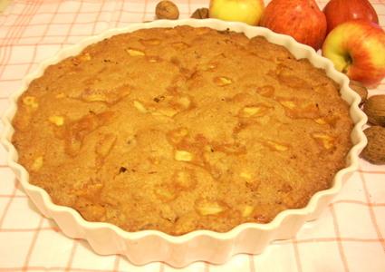 Recette gâteau pommes et noix (gâteau)