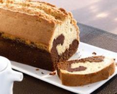Recette cake marbré au chocolat facile