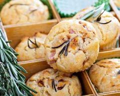 Recette muffins au jambon et feta