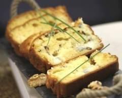 Recette cake au fromage, noix et pomme