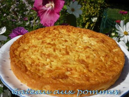 Recette de gâteau aux pommes simplissime