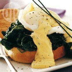 Recette œufs pochés à la florentine – toutes les recettes allrecipes