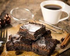 Recette brownies aux chocolats et café
