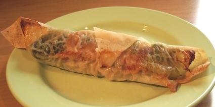 Recette de rouleaux de viande hachée au chou vert