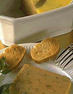 Terrine de foie gras  1 pour 4 personnes