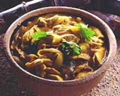 Recette curry d'agneau aux épices