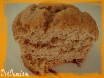 Recette de muffins banane-cannelle