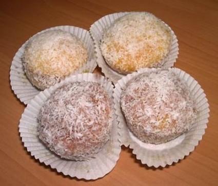 Recette de boules de noix de coco à la fleur d'oranger