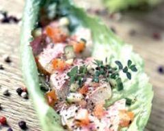 Recette rougets crus marinés au poivre