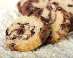 Recette cookies marbrés cacao-vanille