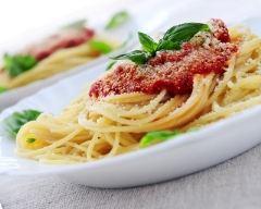Recette spaghetti aux tomates fraîches