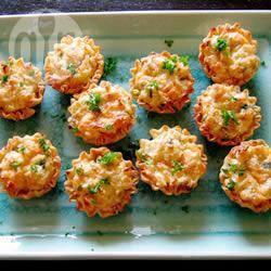 Recette amuse bouches au crabe royal – toutes les recettes ...