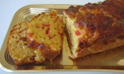 Recette de cake italien à la mozzarella