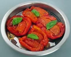 Recette poivrons farcis aux tomates