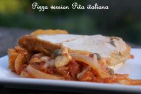Pizza version pita italiana pour 6 personnes
