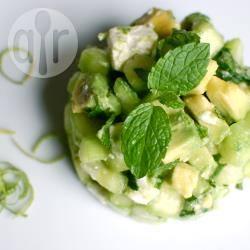 Recette salade concombre, avocat et feta – toutes les recettes ...