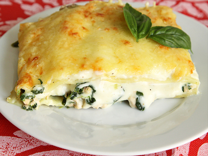 Recette de lasagnes au saumon et aux épinards
