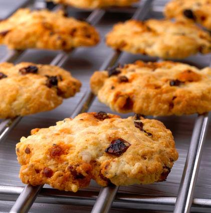 Recette de cookies salés à la tome des bauges