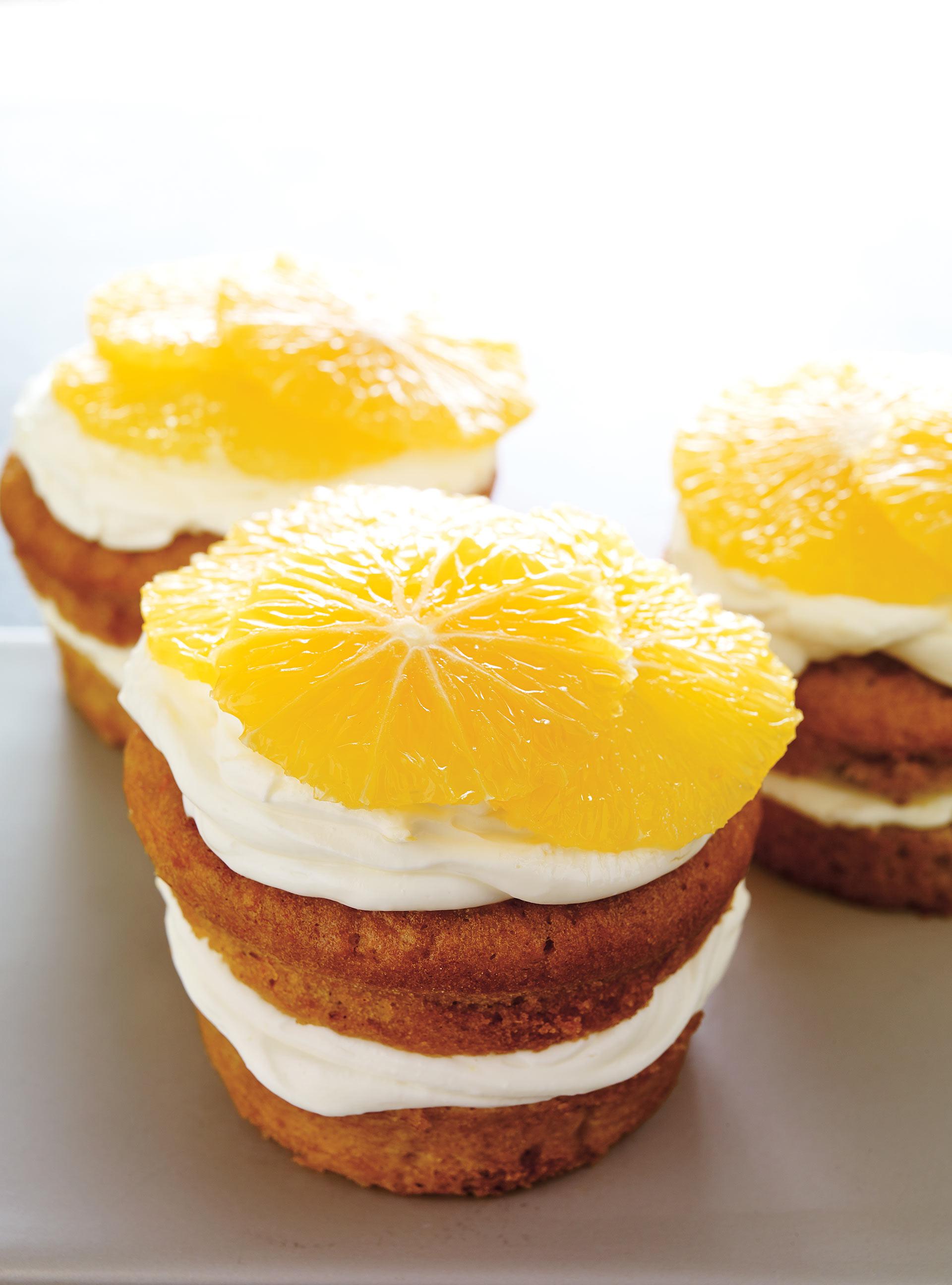 Petits gâteaux aux carottes et crème au mascarpone | ricardo