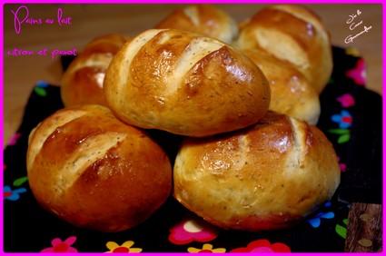 Recette de pain au lait citron et pavot