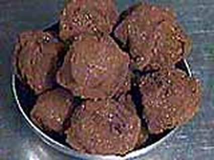 Recette de truffes au chocolat ultra simples