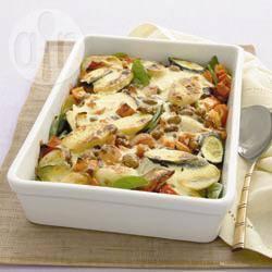 Recette gratin de légumes méditerranéens – toutes les recettes ...