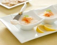 Recette mousse de saumon