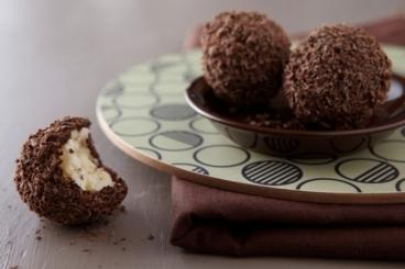 Recette de boule de chocolat coeur meringue facile et rapide