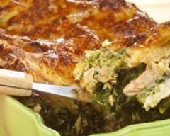 Recette lasagnes au saumon, épinards et comté