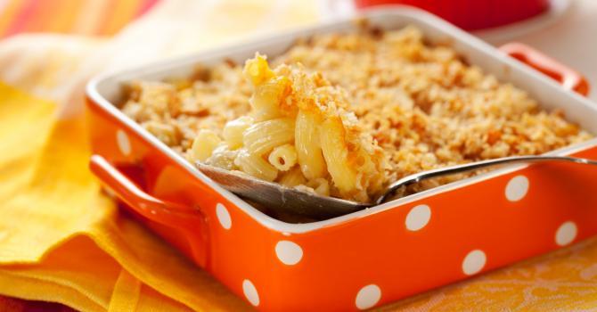 Recette de gratin de macaronis à l'édam