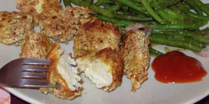 Recette de nuggets de poulet maison