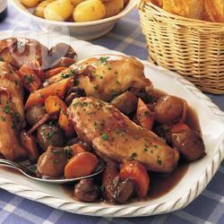 Recette poulet à la bourguignonne – toutes les recettes allrecipes