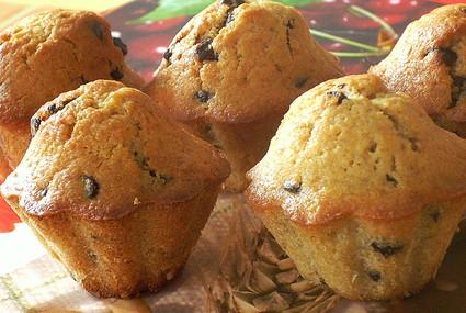 Recette de muffins à la banane et au chocolat