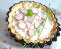Recette tartelettes à la brousse et aux radis